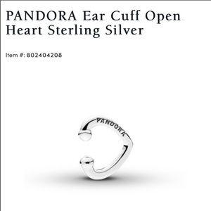 Small silver pandora cuff